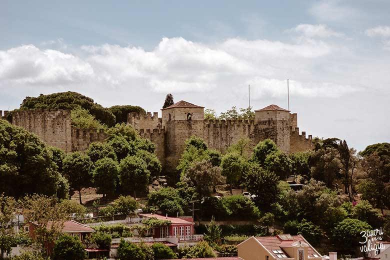Lisbona con bambini castello di San Giorgio