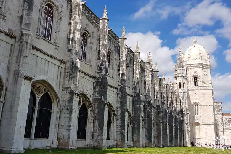 Lisbona con bambini monastero di dos Jerónimos