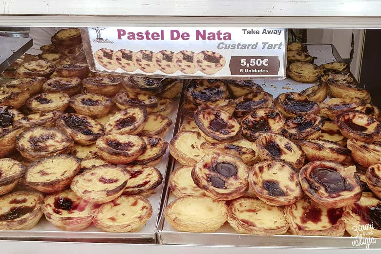 Lisbona con bambini Pastel De Nata