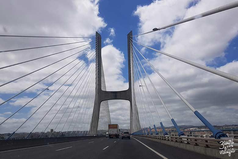 Lisbona con bambini ponte Vasco de Gama