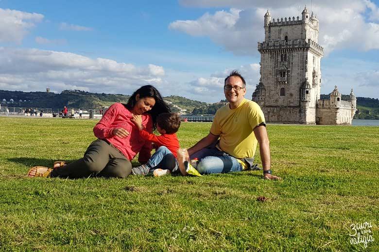 Lisbona con bambini Torre de Belém