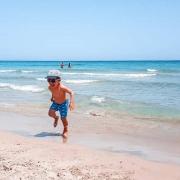 Salento con bambini baia dei Turchi
