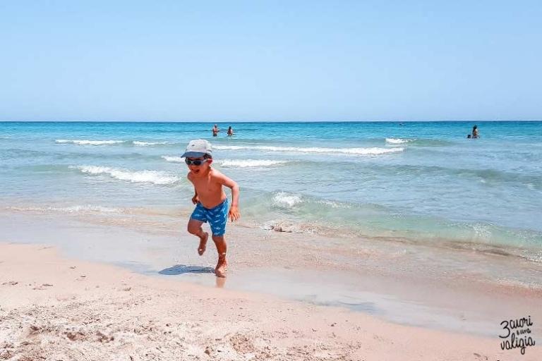 Salento con bambini: le spiagge più belle