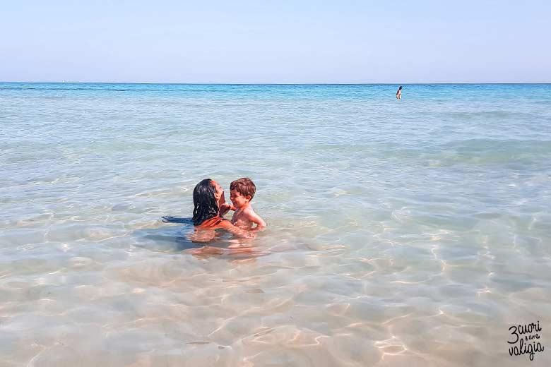 Salento con bambini Maldive del Salento
