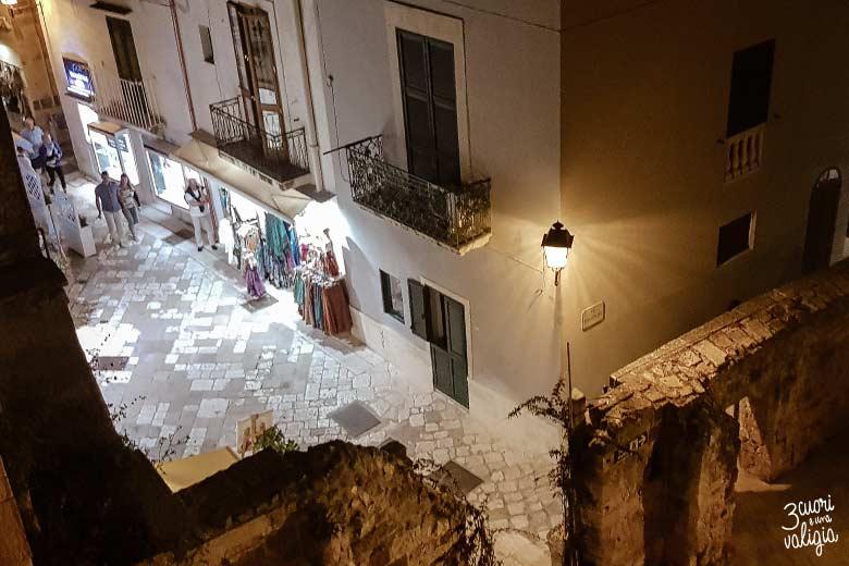 Salento con bambini Otranto di notte