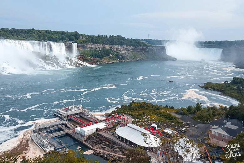 Canada orientale con bambini - cascate del Niagara