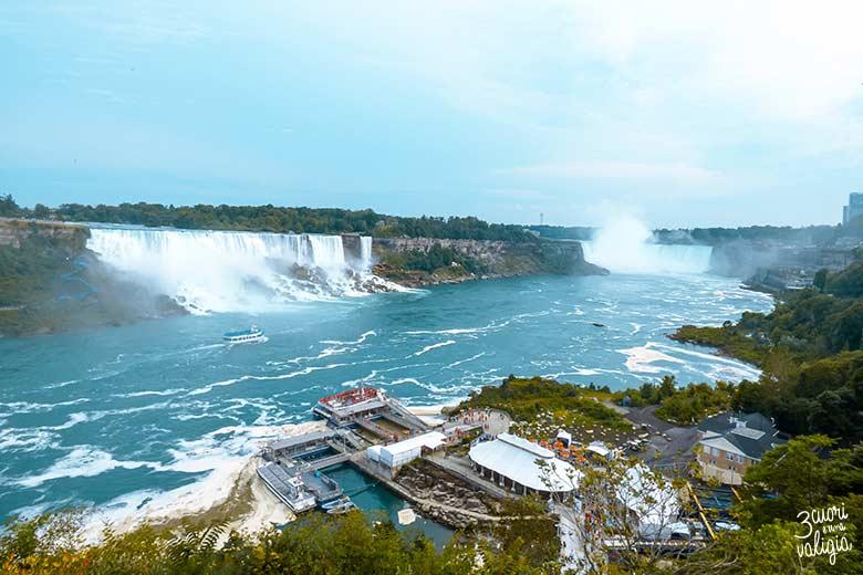 Itinerario Canada orientale con bambini cascate del Niagara