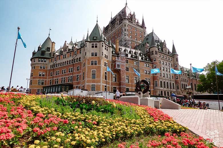 Canada orientale con bambini - Quebec City Fairmont Le Château Frontenac