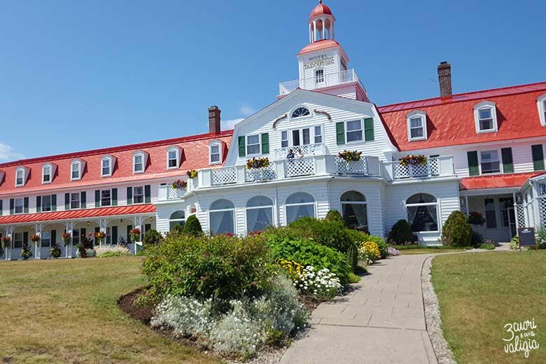 Itinerario Canada orientale con bambini Hotel Tadoussac