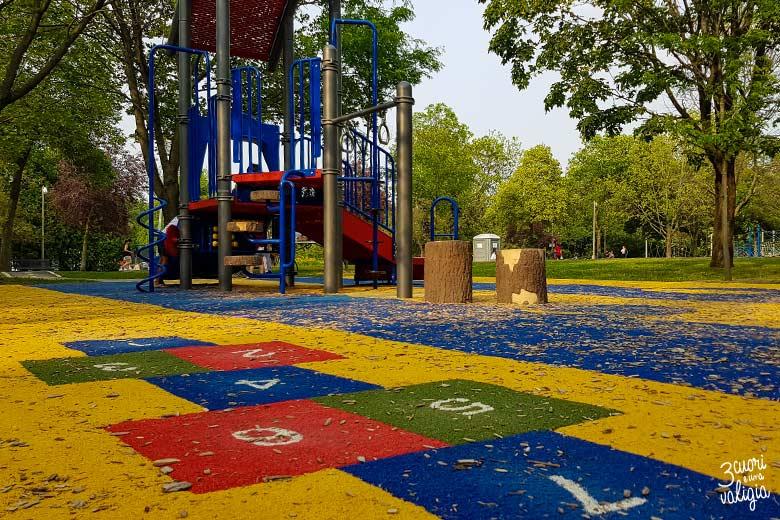 Itinerario Canada orientale con bambini Parc La Fontaine Montréal