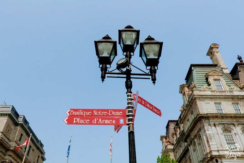 Itinerario Canada orientale con bambini Montréal indicazioni stradali