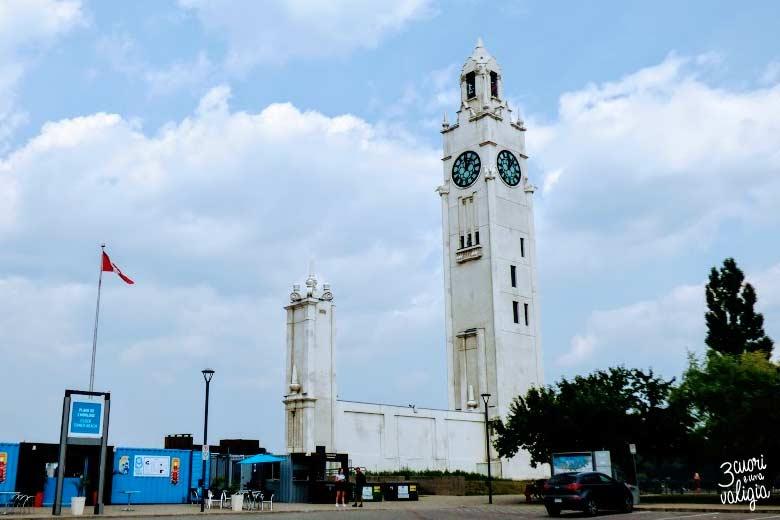 Montréal torre dell'orologio