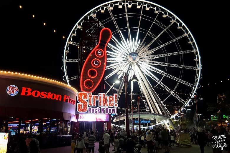 Niagara di notte