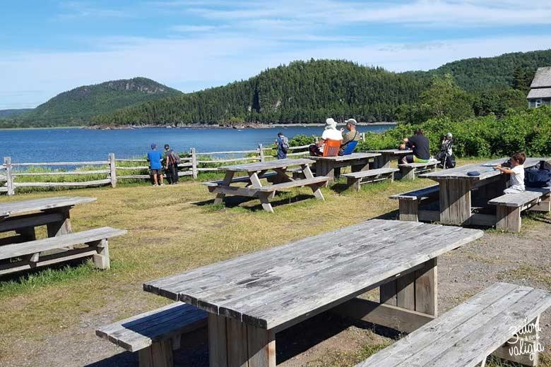 Itinerario Canada orientale con bambini Parc national du Bic area picnic
