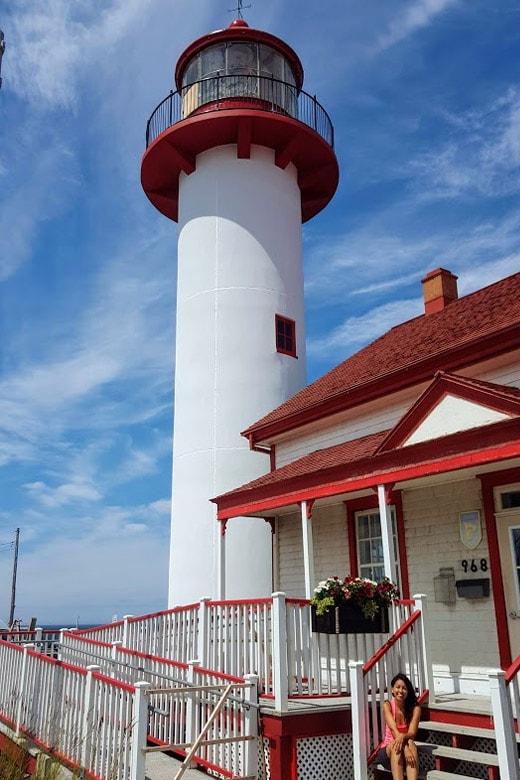 Itinerario Canada orientale con bambini Musee du Vieux-Phare Matane