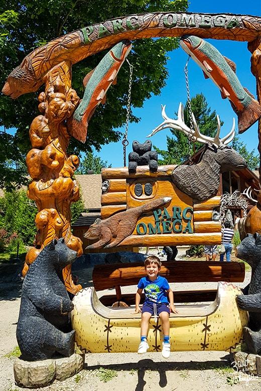 Itinerario Canada orientale con bambini Parc Omega