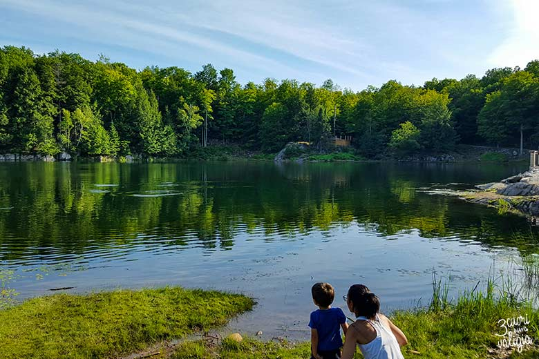 Parc Omega Trout Lake
