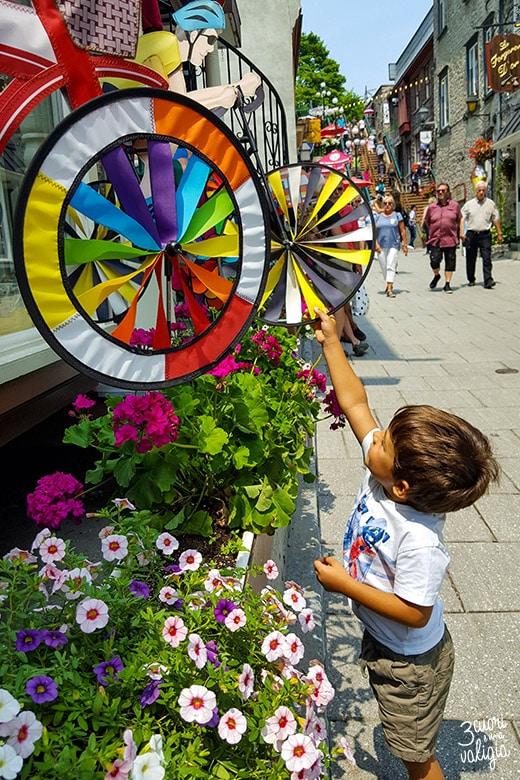 Itinerario Canada orientale con bambini Quebec City