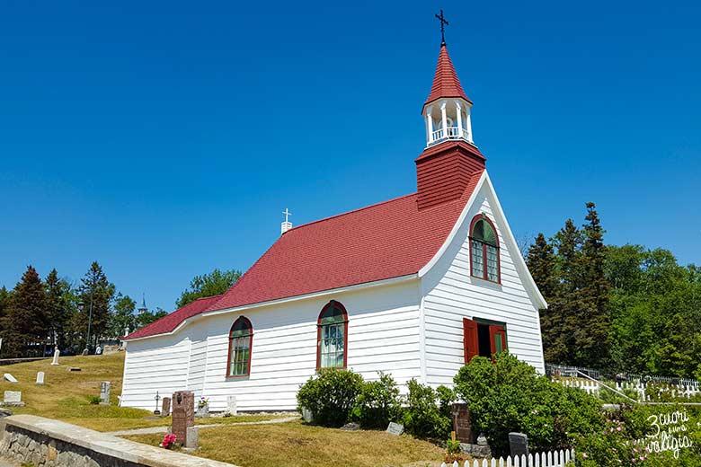 Itinerario Canada orientale con bambini Chapelle de Tadoussac