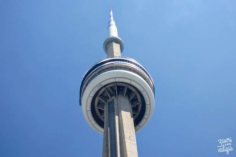 Itinerario Canada orientale con bambini CN Tower Toronto