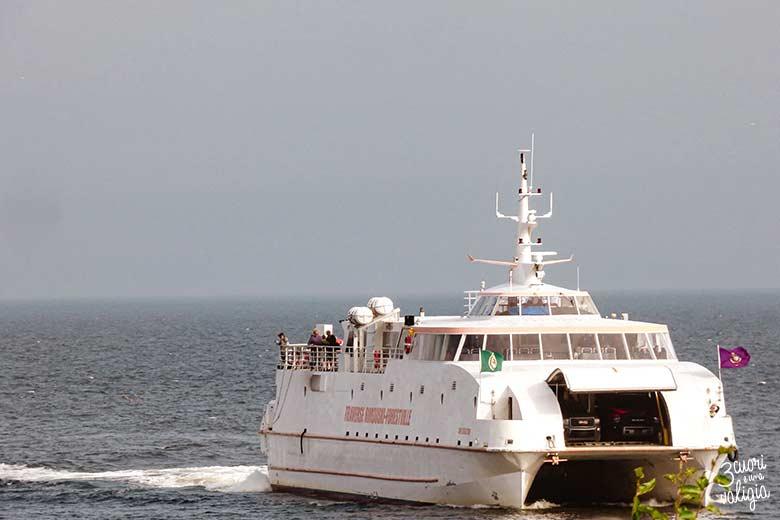 Itinerario Canada orientale con bambini traghetto Rimouski-Forestville