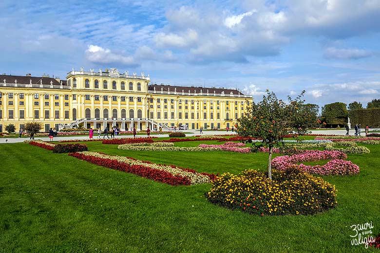 Visitare Vienna in bus: Schönbrunn Palace