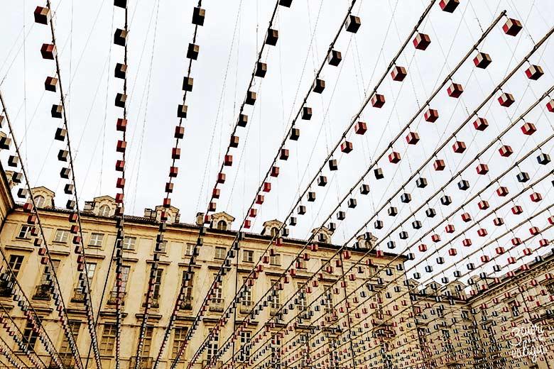 Piazza palazzo città Torino