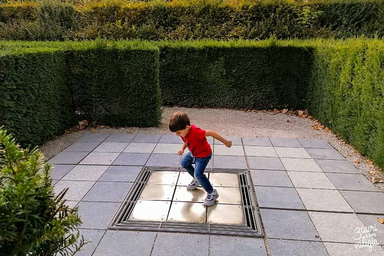 Vienna con bambini labirinto