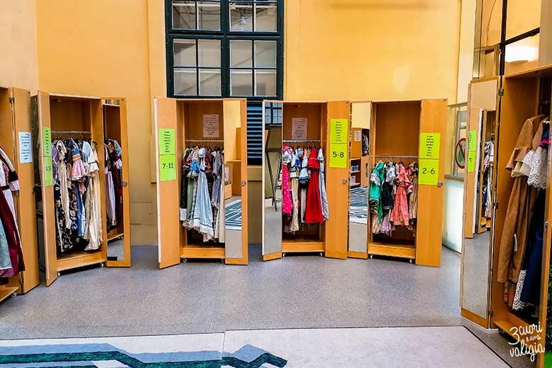 Museo dei bambini vestiti