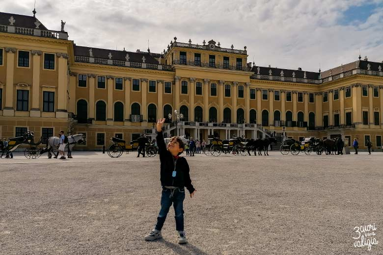 Castello di Schönbrunn con i bambini