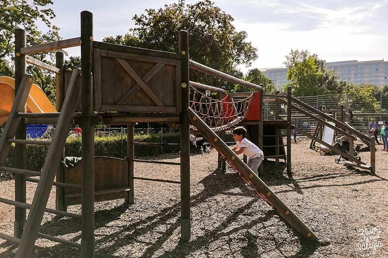 Vienna con i bambini - parco giochi