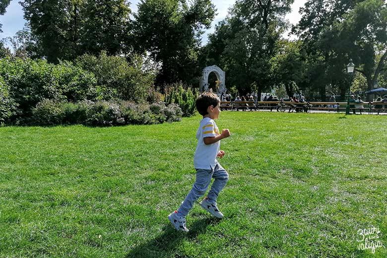 Vienna con i bambini Stadtpark