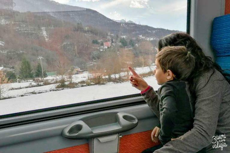 A bordo del treno del foliage in inverno: un'emozione da vivere con i bambini