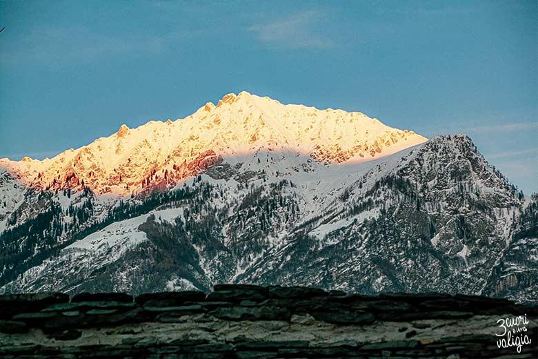 Dove dormire in Val d'Ossola: Montagne viste dalla finestra del B&B Casa Tomà