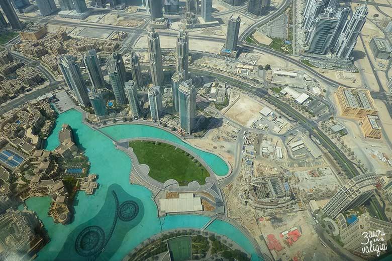 Vista panoramica dal Burj Khalifa