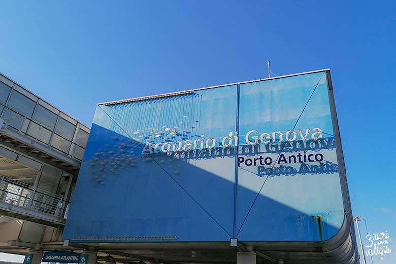 Visitare l'acquario di Genova con i bambini